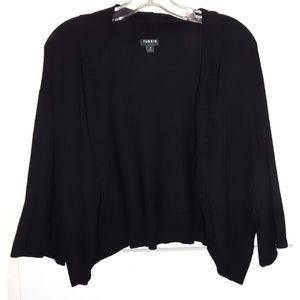 Torrid 4 sweater shrug bolero Black crop cardigan
